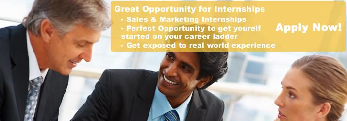 Internship in Sales & Marketing