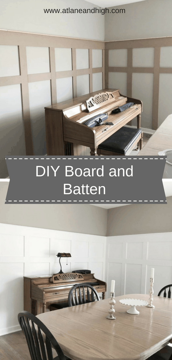 How to DIY a Board and Batten Wall Inexpensively