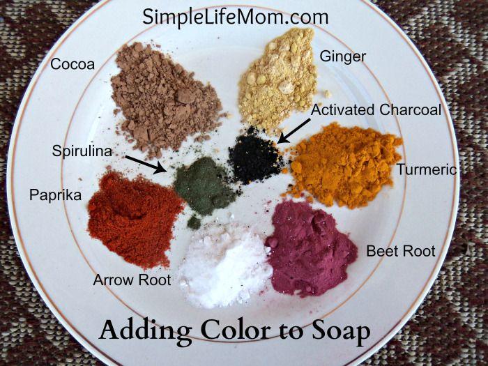 Adding Color to Homemade Soap - | Homemade soaps, Alternative and ...