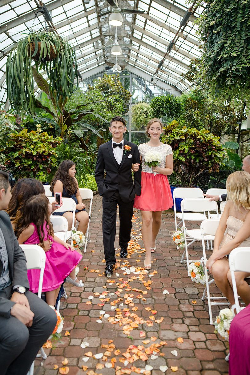 Wedding Party Lincoln Park Conservatory