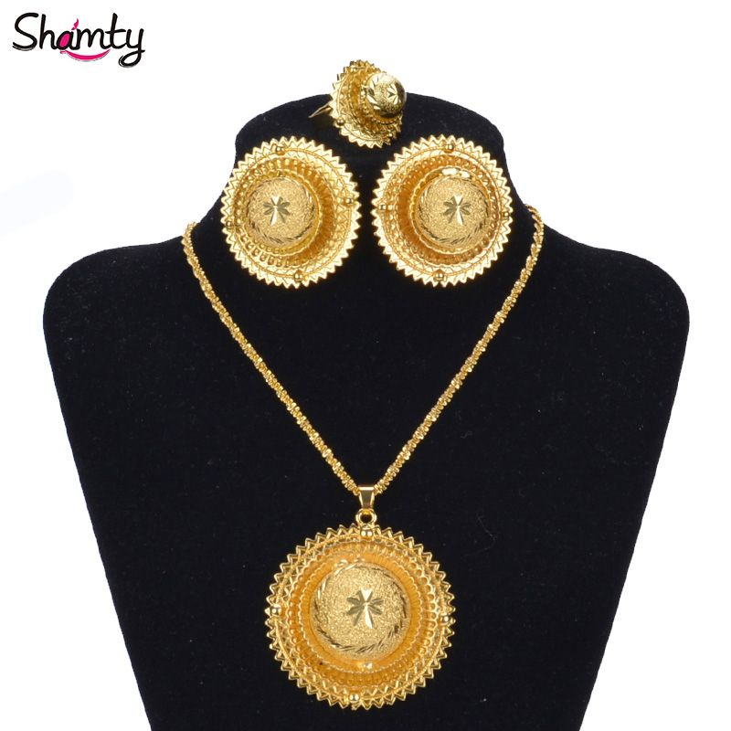 Like And Share If You Want This Hot Ethiopian Bridal Jewelry Sets African Nigeria