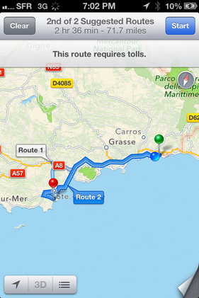 The French Car from Hell, - Driving the French Riviera - Monaco to Saint Tropez - Travellers Bazaar