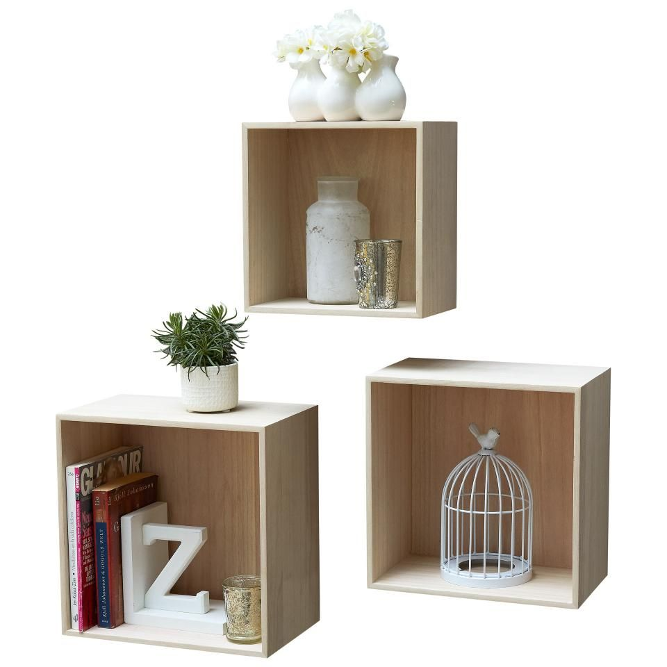 Plante Fleurie Salle De Bain ~ Estanter A De Pared Sorring Cuadrada Set De 3 Jysk Bedroom