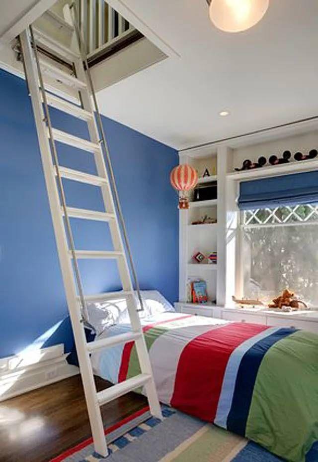 Cool Boy Small Bedroom Ideas (5 Year Old) | Stylish Kids Room, Attic Renovation, Secret Rooms