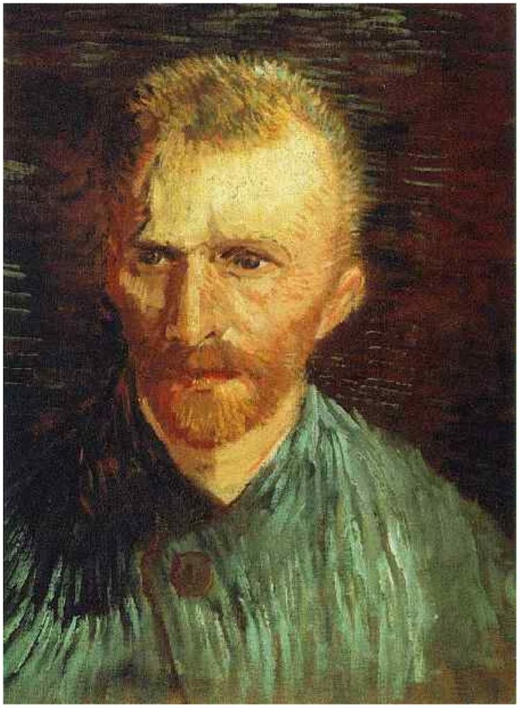 Vincent Van Gogh Self Portrait Painting Pintor Van Gogh