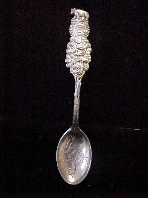 Sterling Silver California Flag Souvenir Spoon 4 inches 9 4 grams LQQK | eBay