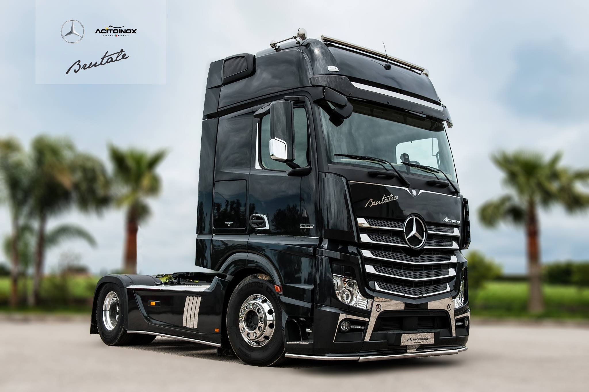 Mercedes Actros Brutale 630 Realizzato In Partnership Con