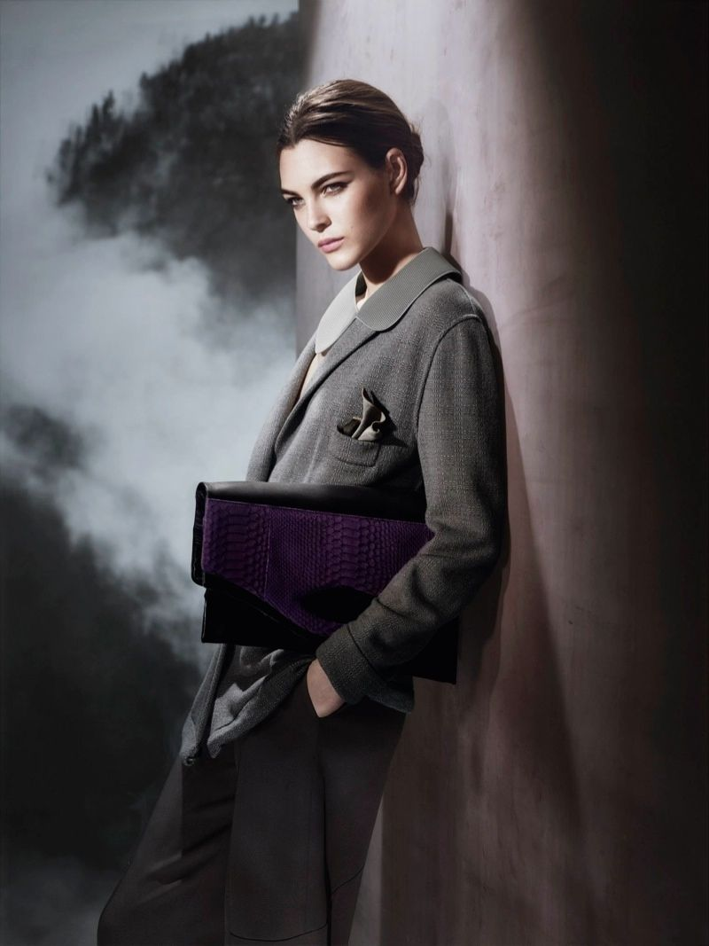 Ceretti vittoria for giorgio armani fall campaign pictures