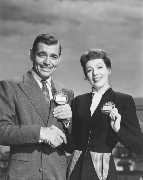 Clark Gable And Loretta Young Key To The City 1950 Loretta Young Old Movie Stars Hollywood