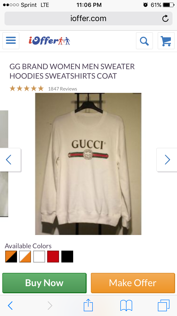 Gucci Shirts Ioffer f0162c9ec74d4