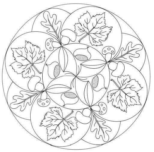 Pin de Eva Szombath en Ősz | Pinterest | Mandalas, Plástica y ...