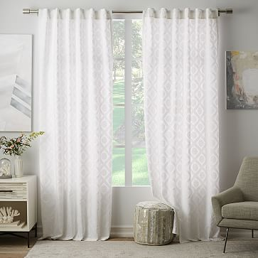 Linen Cotton Curtain Stone White 189 Project Bedroom Chevron Curtains White Curtains Sheer Linen Curtains