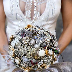 Art Deco Wedding Bouquets