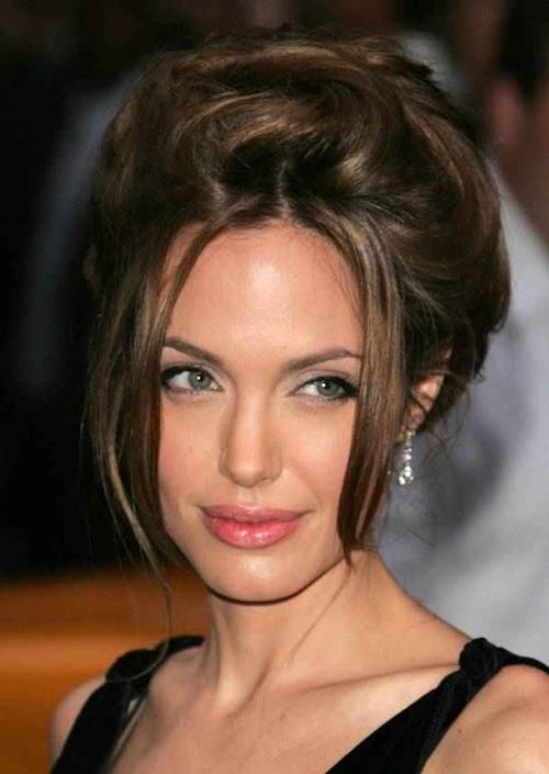 Angelina J Angelina Golie Frisuren Haare