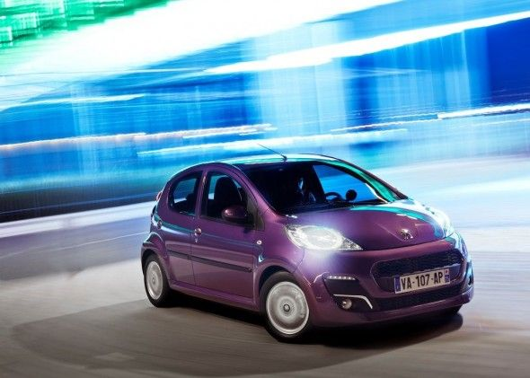 2013 Peugeot 107 With The Concept Of Modern Urban Style