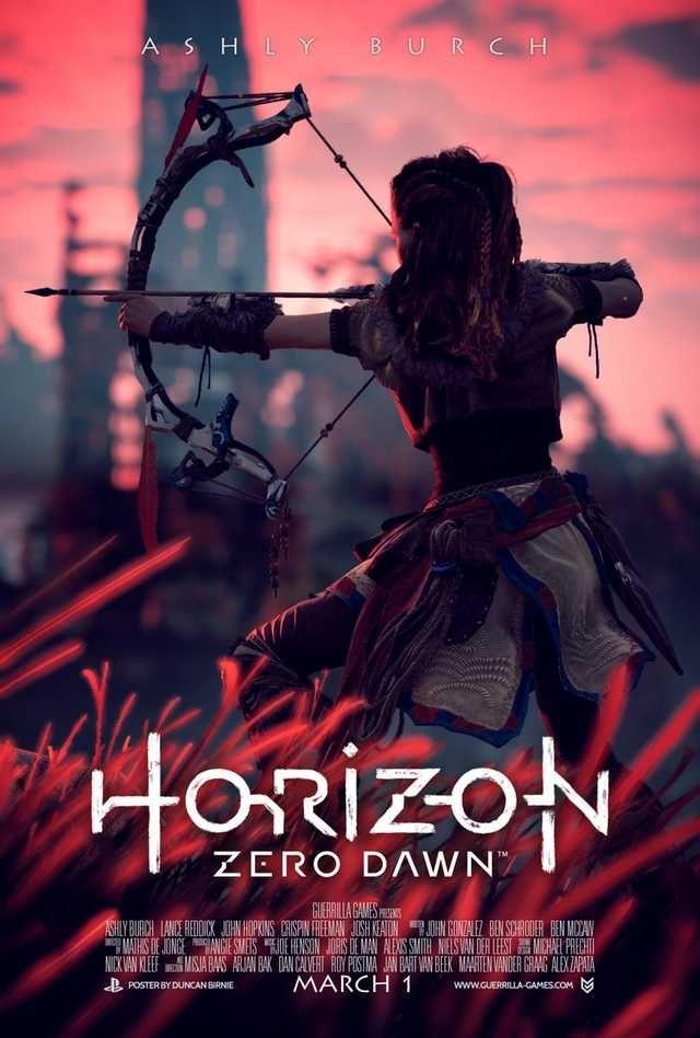 Horizon Movie Posters by @duncanbirnie