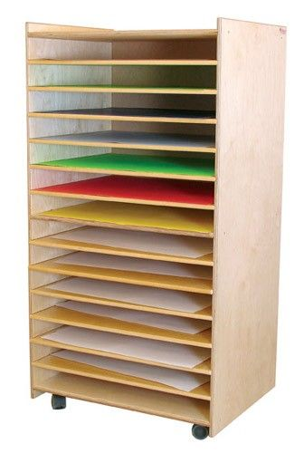 High Quality Wood Designs Puzzles, Paper, Games Rack Provides 12 Spacious Shelves Of  Storage. This Paper Rack And Puzzle Rack Makes A Nice Addition To Your  Classroom ...