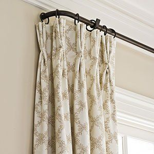 Stylish Family Friendly Decorating French Country Living Room Iron Curtain Rods Home