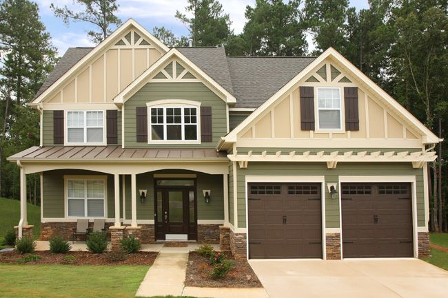 Modern Exterior Paint Colors For Houses | Cement siding, James ...