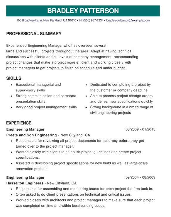 A Good Cv Template | Good cv, Resume examples, Good resume ...