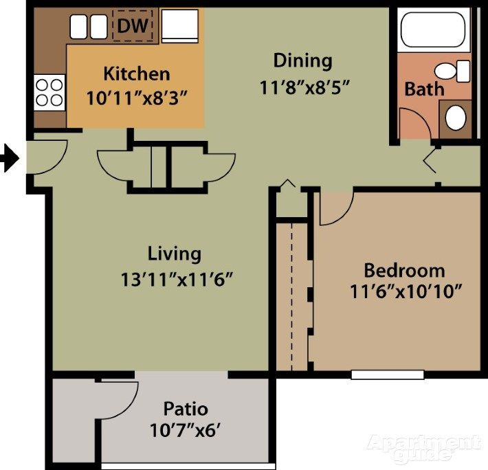 Creekside South | Tiny Home Space Savers | House plans
