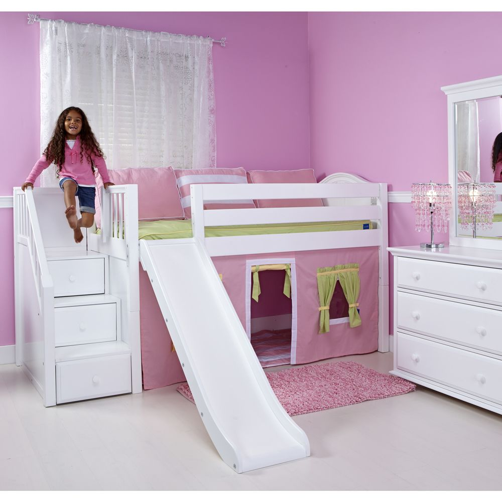 Bunk beds with slide and stairs - Bunk Bed With Stairs And Slide Zzvgmfax