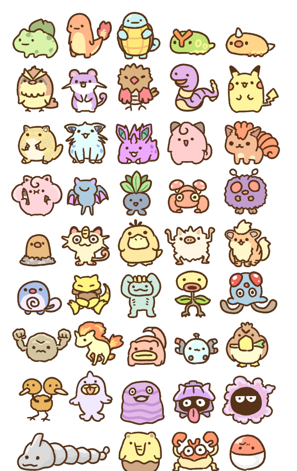 18++ Tiny pokemon info
