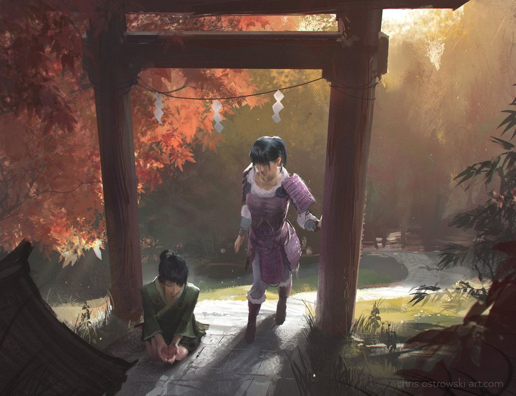 Ki-Rin Shrine by najtkriss.deviantart.com on @DeviantArt