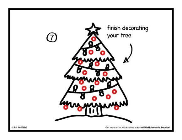 How To Draw A Christmas Tree Art For Kids Hub Christmas Tree Art Art For Kids Hub Art For Kids
