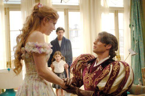 Still of Patrick Dempsey, James Marsden, Amy Adams and Rachel Covey in Enchanted