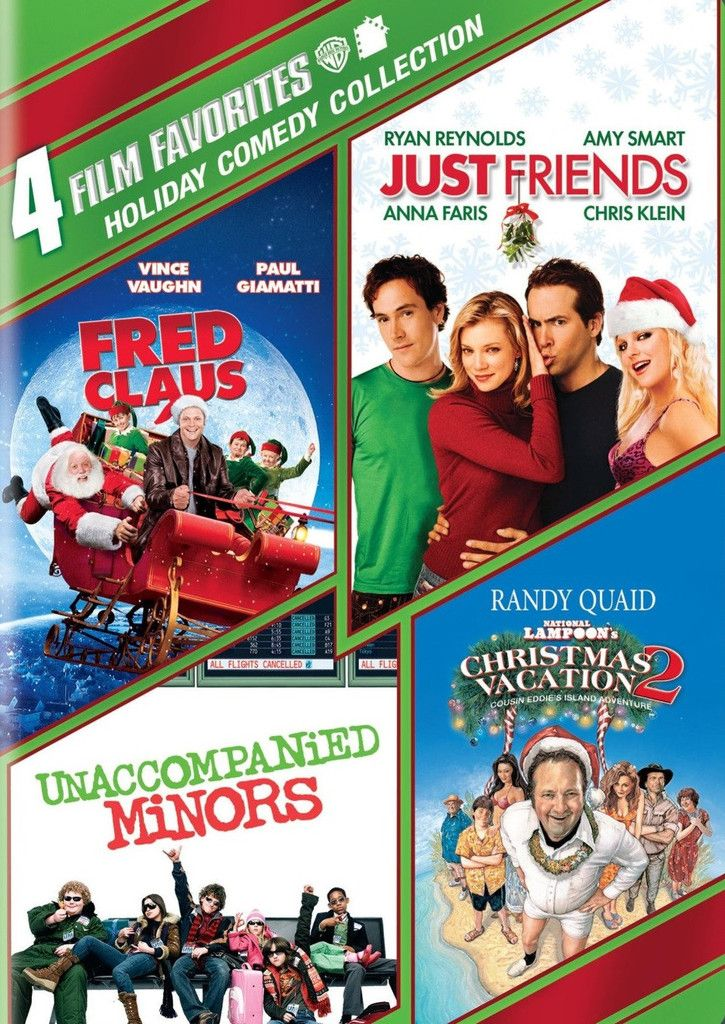 Christmas DVD 4 Film Favorites-Holiday Comedy Collection
