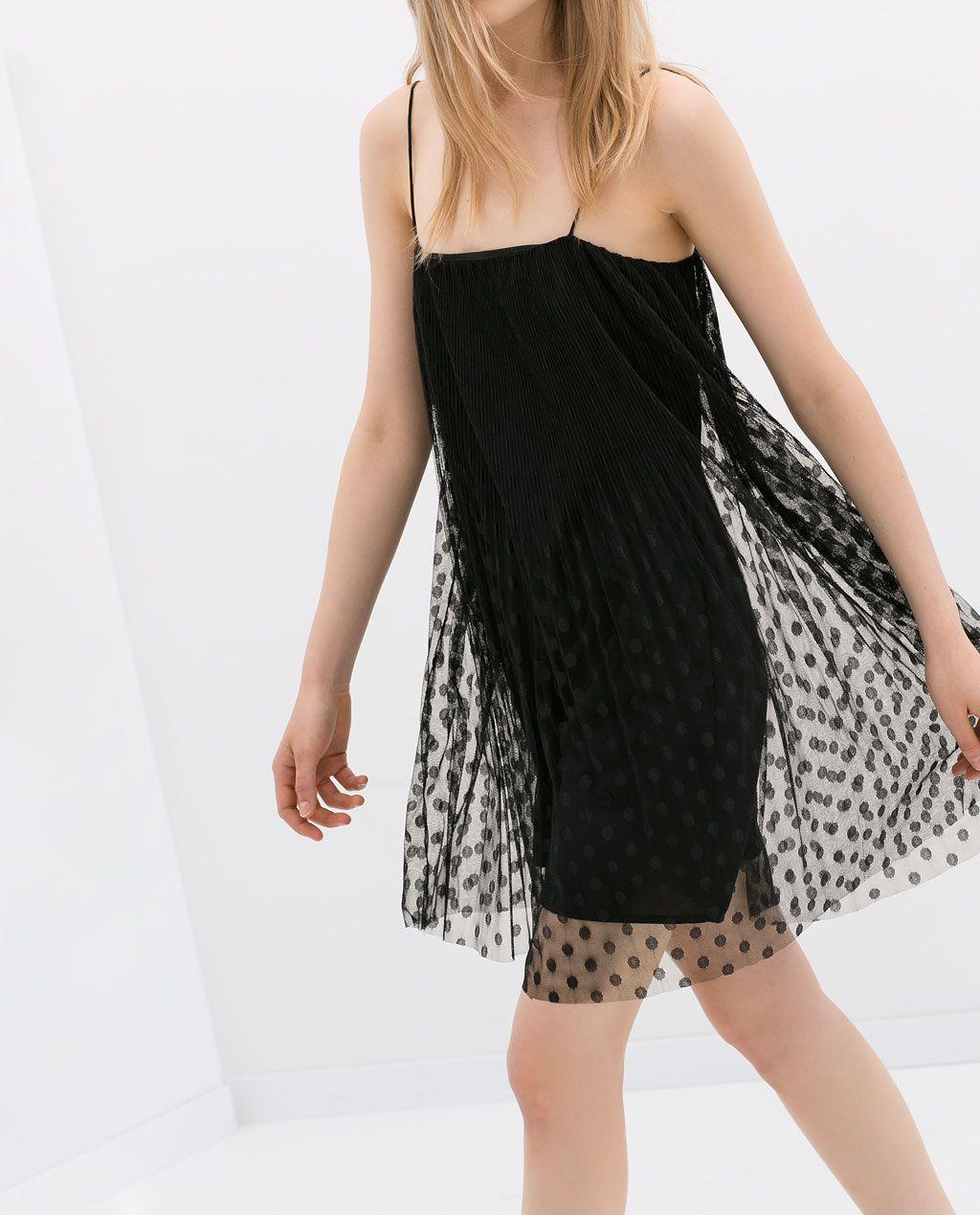 aa8e6731b4 Image 3 of SHEER OVERLAY DRESS from Zara