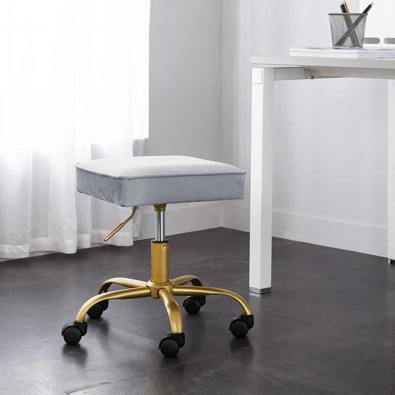 Haveman petal height adjustable stool adjustable stool