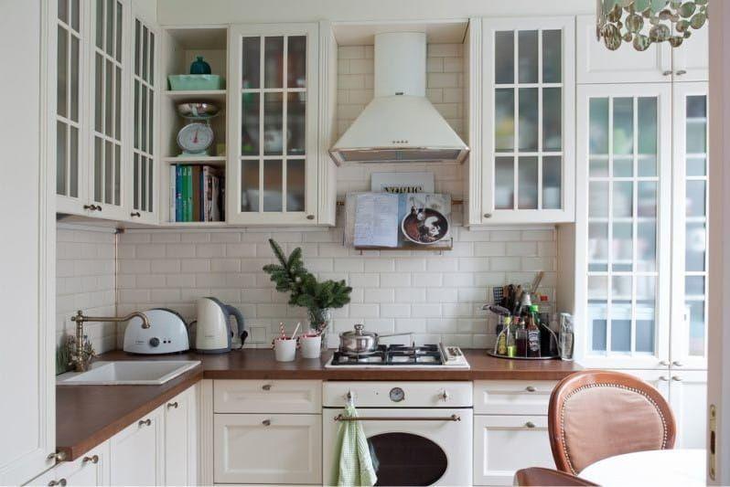 Фартук кабанчик на кухне в стиле прованс | Интерьер кухни ...