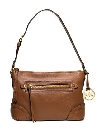 f140ce4959b37 Michael Michael Kors Fallon Medium Leather Shoulder Bag