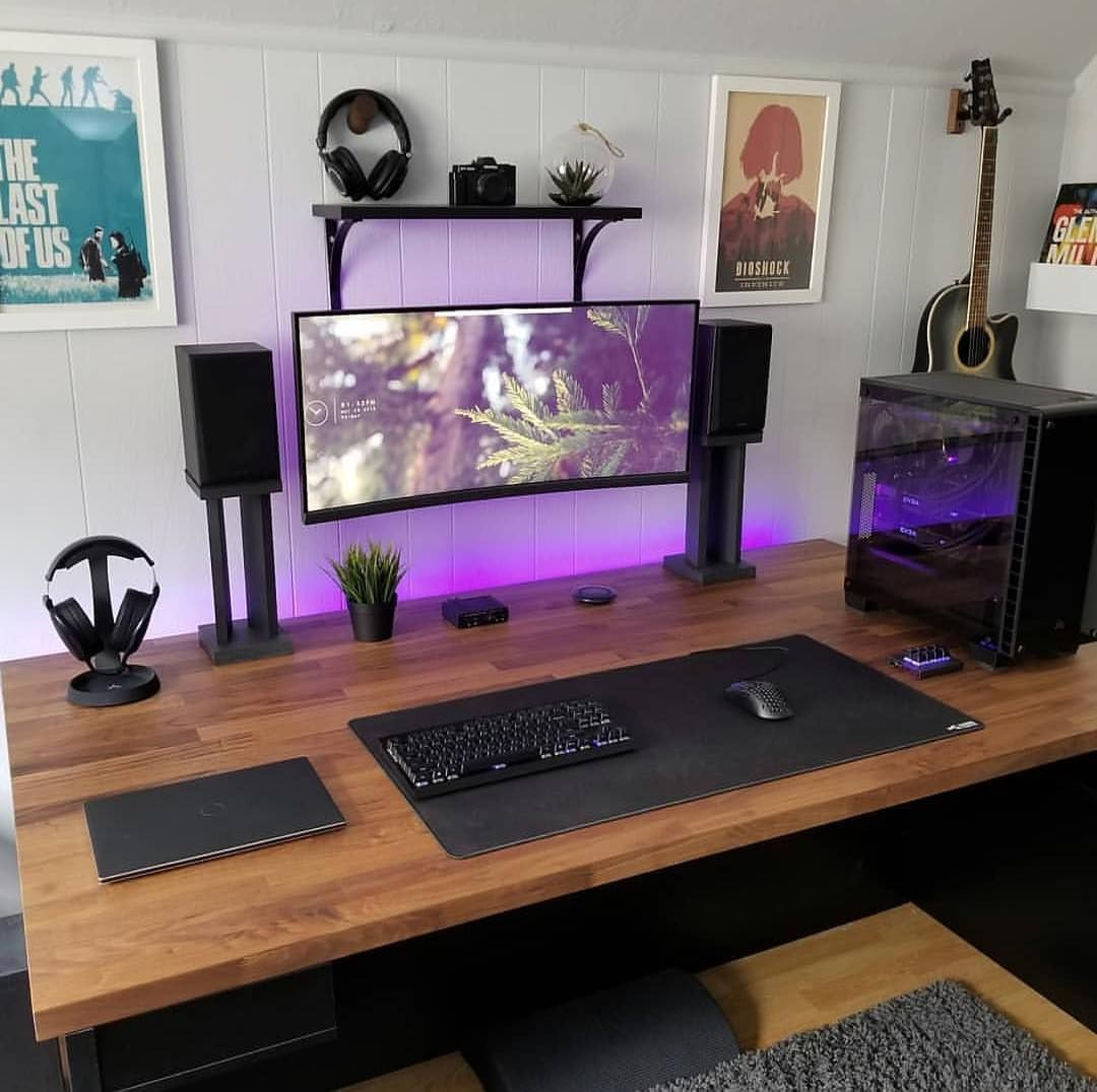 Pin by Matthew Webster on Gaming Home office setup