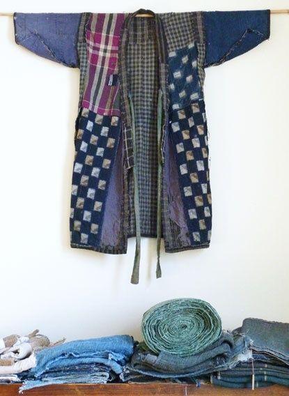 bleu-indigo:  kimono