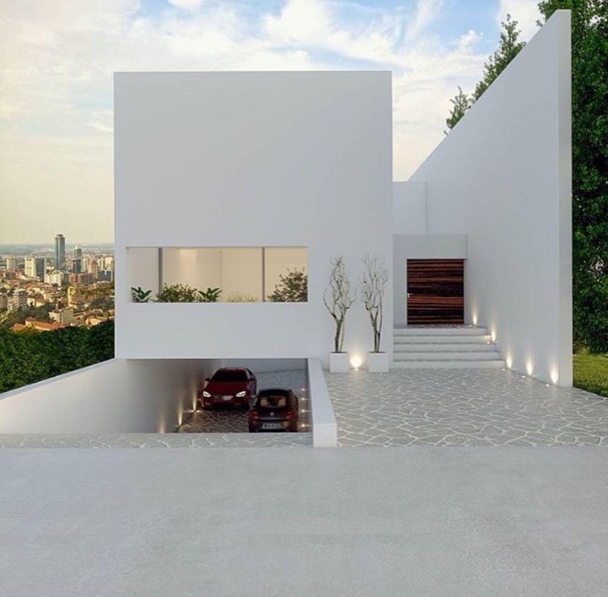 Pingl par naomi bello sur unidad habitacional for Conception villa moderne