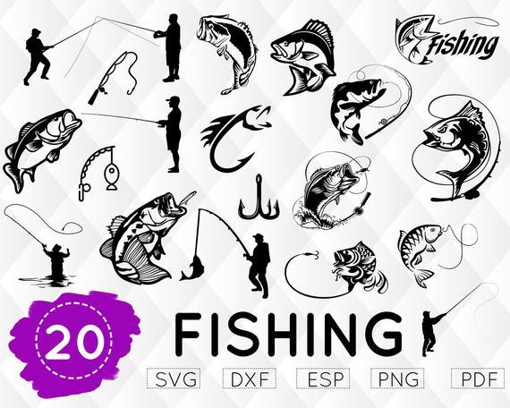 Download Fishing Cut File Fish Hook Clipart Fisherman Svg Fishing Clipart Bass Fish Svg Fish Svg Fish Hook Svg Fishing Svg Fish Hook Svg Drawing Illustration Art Collectibles Delage Com Br