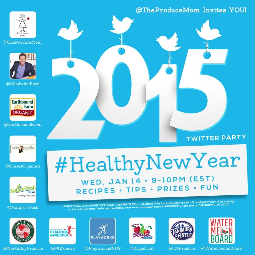 """RT if you plan to attend #HealthyNewYear WEDNESDAY 9pmEST http://t.co/5s4Li1JP1X #recipes #fun #prizes #contest"""