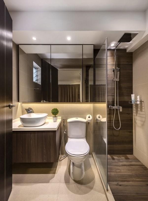 Modern Open Concept Toilet design, Small toilet