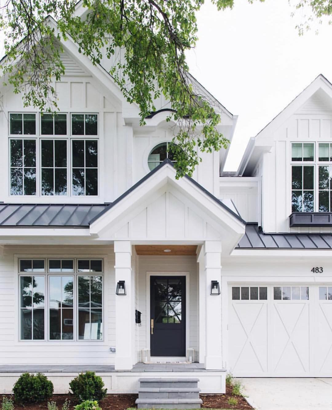 Comment Choisir Une Peinture Blanche talking white + black exterior paint colors today on the