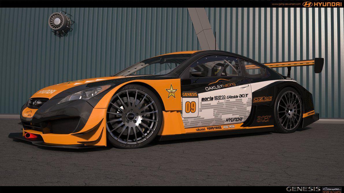 Hyundai Genesis Coupe Oakley Racing 2 Cars Pinterest Hyundai