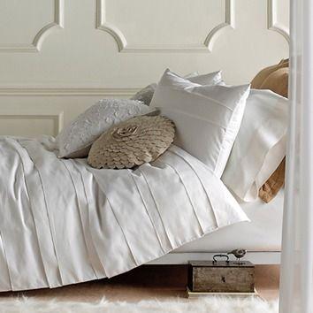 Blissliving Home 3 Piece Belgravia Duvet Set in White
