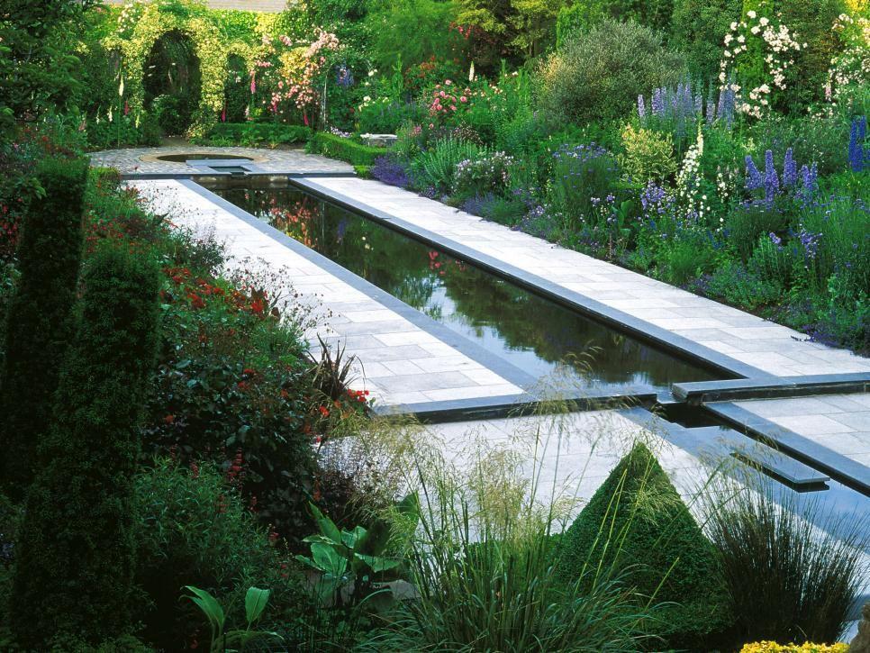 A Traditional Meets Minimalist Garden | Landscape and Garden Design Ideas | HGTV