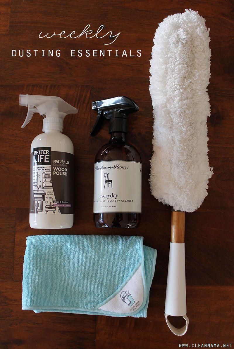 dusting furniture. Put Together A Dusting Caddy : + Furniture Care Essentials