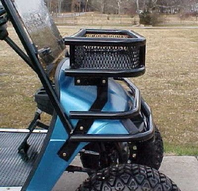 Front Wrap Around Brush Guards With Welded Light Bar For