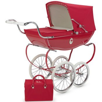 Genuine Silver Cross Dolls Oberon Pram Bag In Rose Pink with straps BRAND  NEW