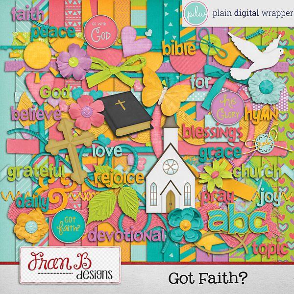 Got Faith? #pdw #digitalscrapbook #scrapbook #digital # ...