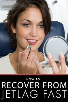 Get ready for a long flight with these tips for recovering from jet lag fast! http://www.dailymakeover.com/trends/body/tips-recover-jet-lag-fast/?utm_content=bufferf8e72&utm_medium=social&utm_source=pinterest.com&utm_campaign=buffer#_a5y_p=1653773
